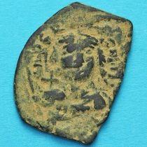 Византия фоллис Констант II 644-645 год. №3