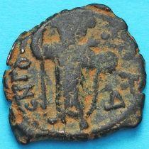Византия фоллис Констант II 641-641 год.