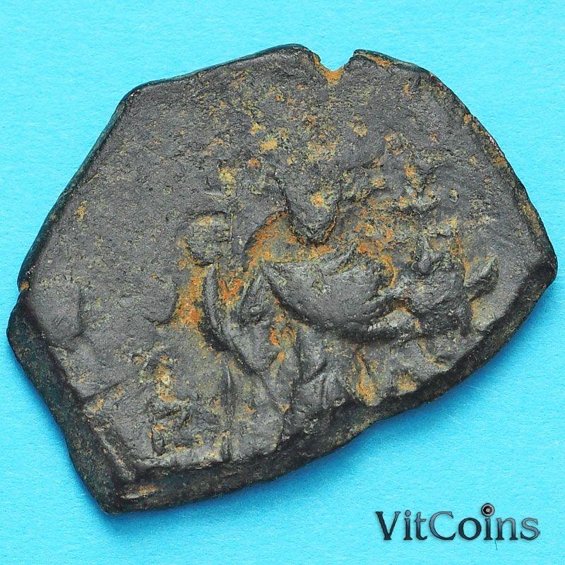 Византия фоллис Констант II 641-668 год. №2