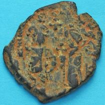 Византия фоллис Ираклий, Ираклий Константин 610-641 год. №3
