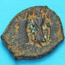 Византия фоллис Ираклий, Ираклий Константин 610-641 год. №4