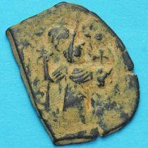 Византия фоллис Констант II 641-668 год. №4