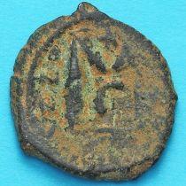 Византия фоллис Ираклий, Ираклий Константин 610-641 год. №7