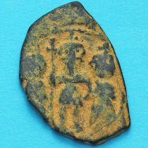 Византия фоллис Ираклий, Ираклий Константин и Мартина 610-641 год. №3