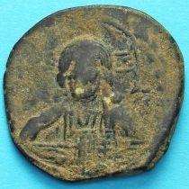 Византия фоллис Василий II 976-1028 год. №5