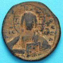 Византия фоллис Василий II 976-1028 год. №6