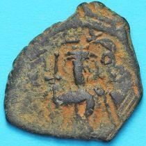 Византия фоллис Констант II 641-668 год. №5