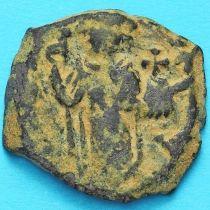 Византия фоллис Констант II 641-668 год. №6