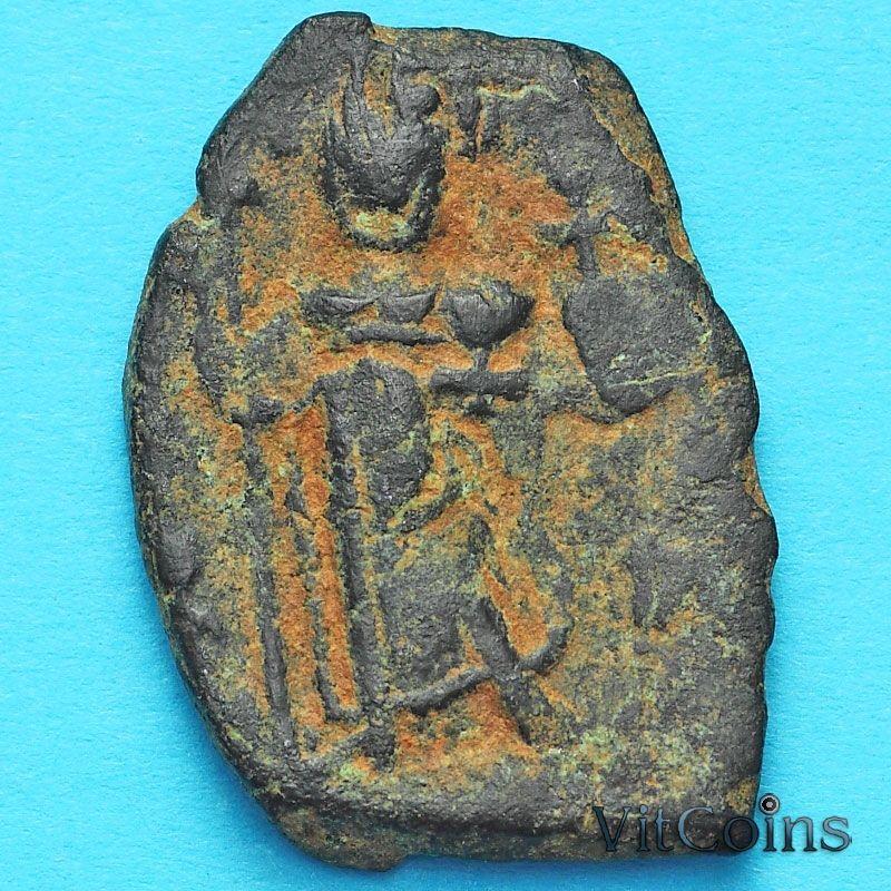 Византия фоллис Констант II 641-668 год. №7