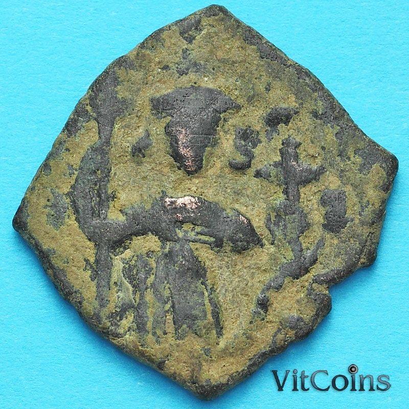 Византия фоллис Констант II 641-668 год. №8