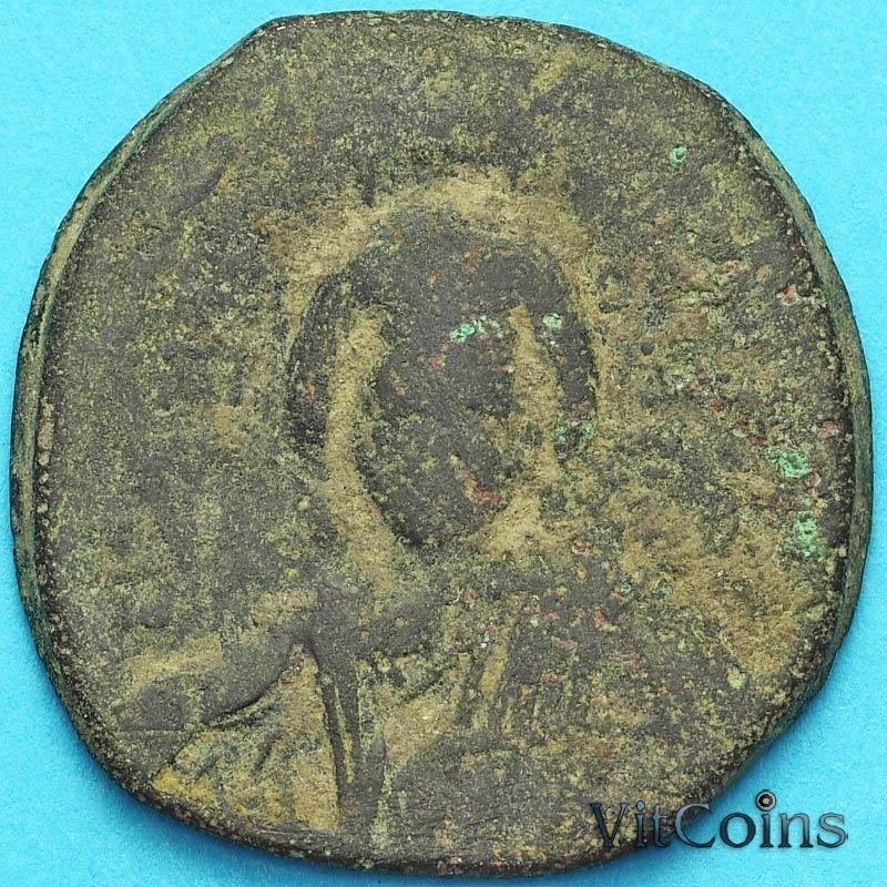 Византия фоллис Василий II 976-1028 год. №7