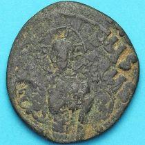 Византия анонимный фоллис, Иисус. Михаил IV Пафлагон 1034-1041 год. №3