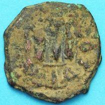 Византия фоллис Констант II 641-668 год. № 22