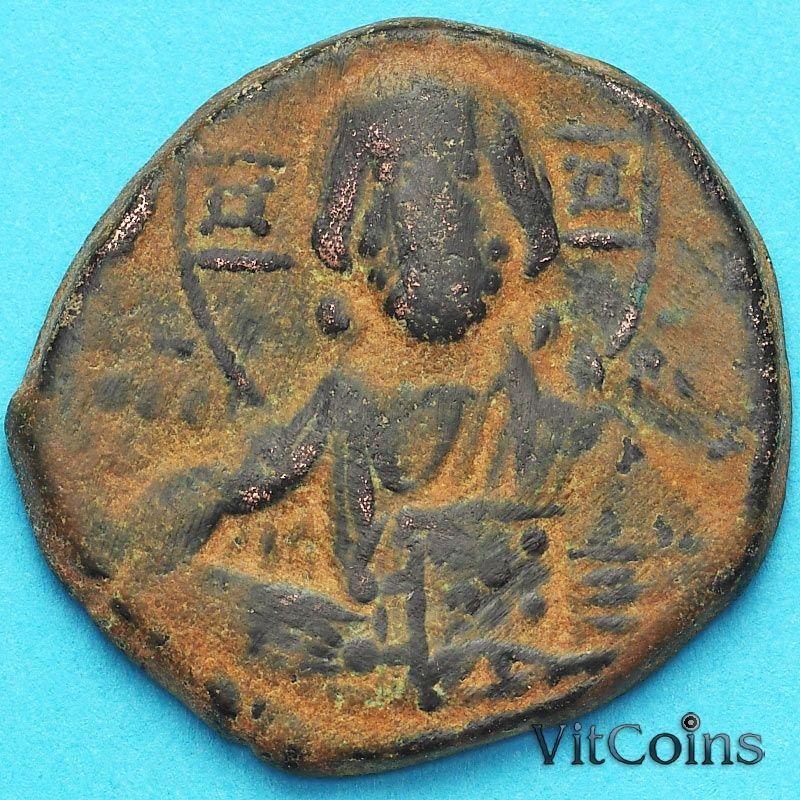 Византия фоллис Василий II 976-1028 год. №11