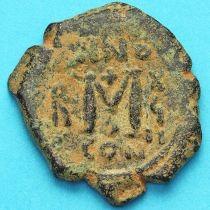 Византия фоллис Ираклий, Ираклий Константин 610-641 год. №14