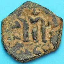 Византия фоллис Констант II 641-668 год. № 20