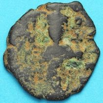 Византия фоллис Констант II 641-668 год. № 21