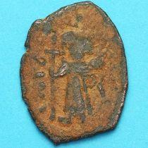 Византия фоллис Констант II 641-668 год. № 24
