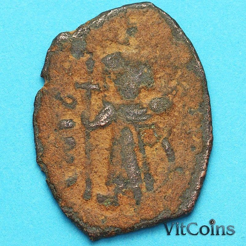Византия фоллис Констант II 641-668 год. №24