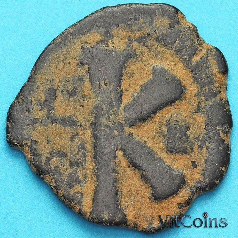 Монета Византия 20 нумий Юстиниан 527-565 год