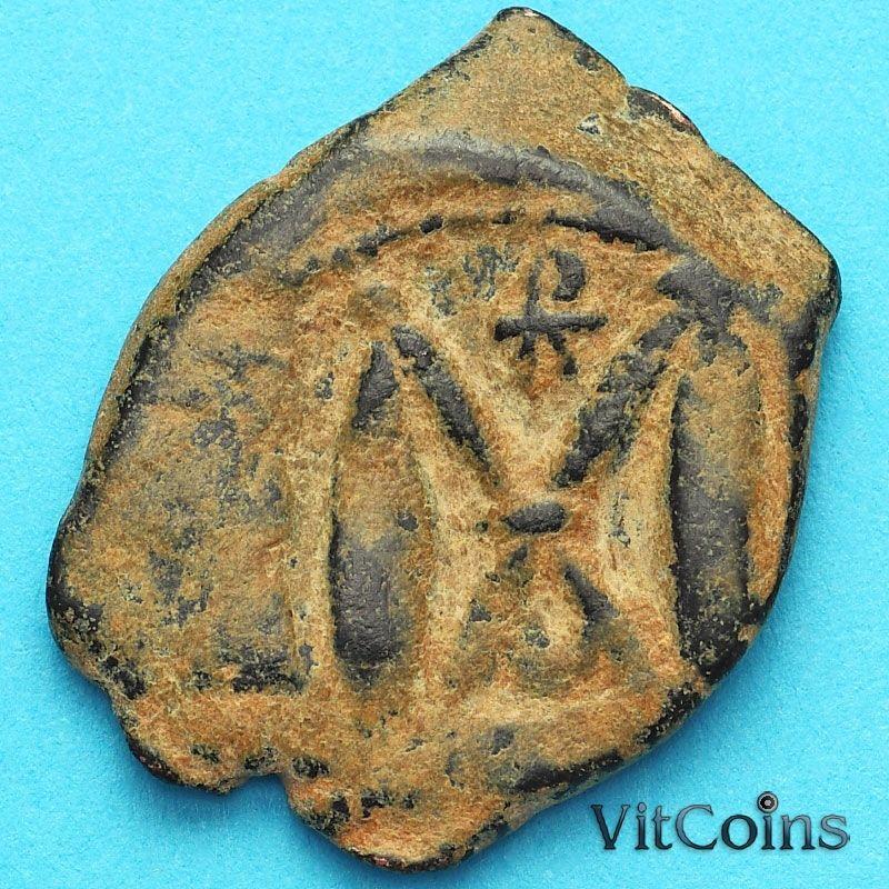 Византия фоллис Ираклий, Ираклий Константин 610-641 год. №12