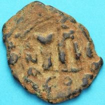 Византия фоллис Констант II 641-668 год. №19
