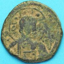 Византия анонимный фоллис, Иисус. Роман III Аргир 1028-1034 год. №4