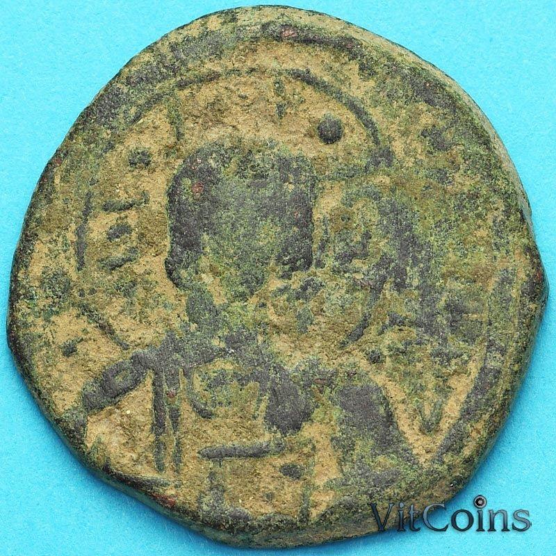 Византия анонимный фолис, Иисус. Роман III Аргир 1028-1034 год. №4