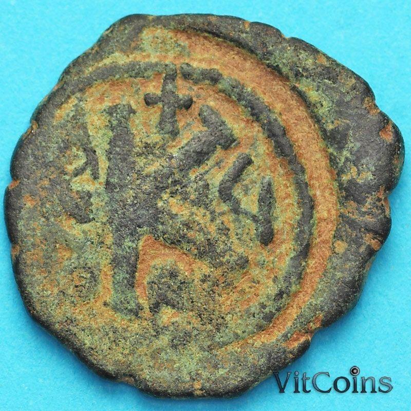 Византия 20 нуммий Маврикий Тиберий 583-584 год. №3