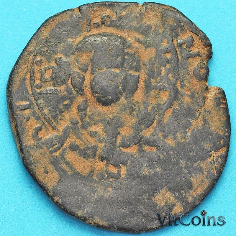 Византия фоллис Василий II 976-1028 год. №12