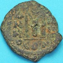 Византия фоллис Ираклий, Ираклий Константин 610-641 год. №15