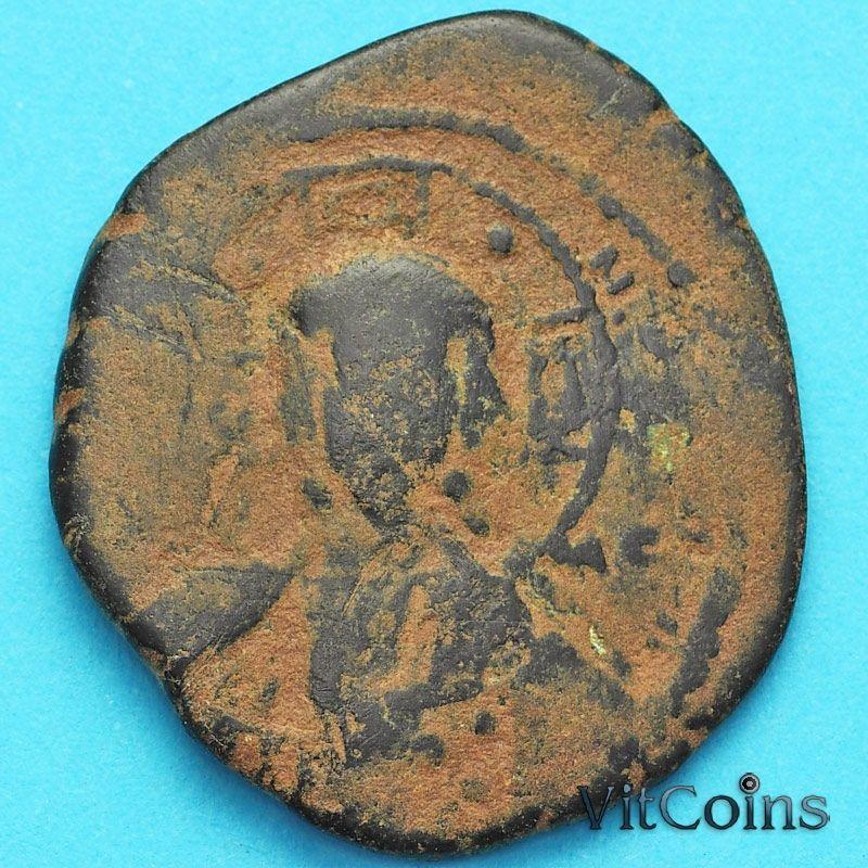 Византия фоллис Василий II 976-1028 год. №13
