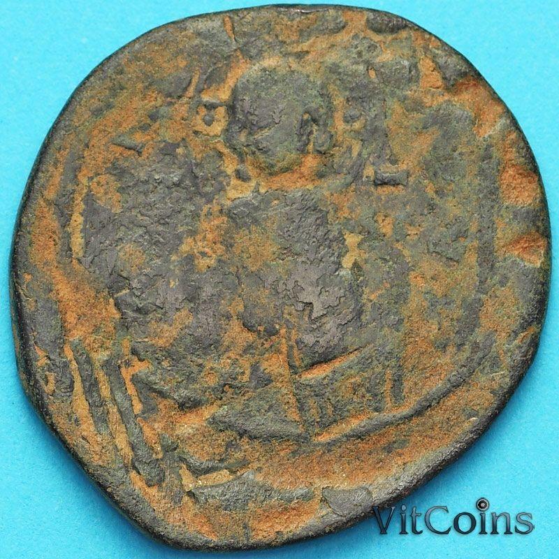 Византия анонимный фоллис, Иисус. Михаил IV Пафлагон 1034-1041 год. №6