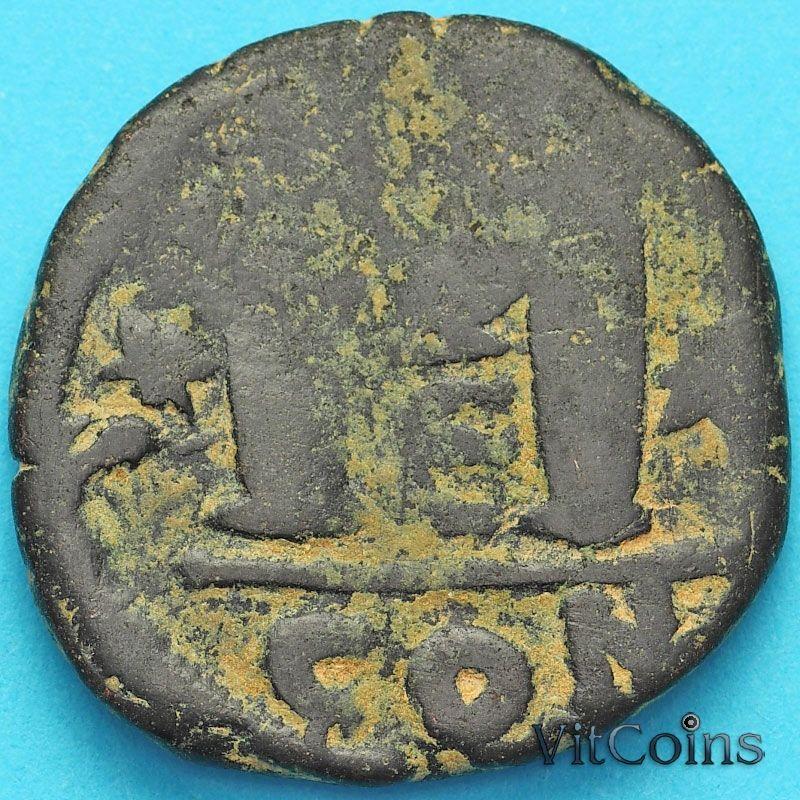 Византия 40 нуммий Юстин 518-527 год. №15