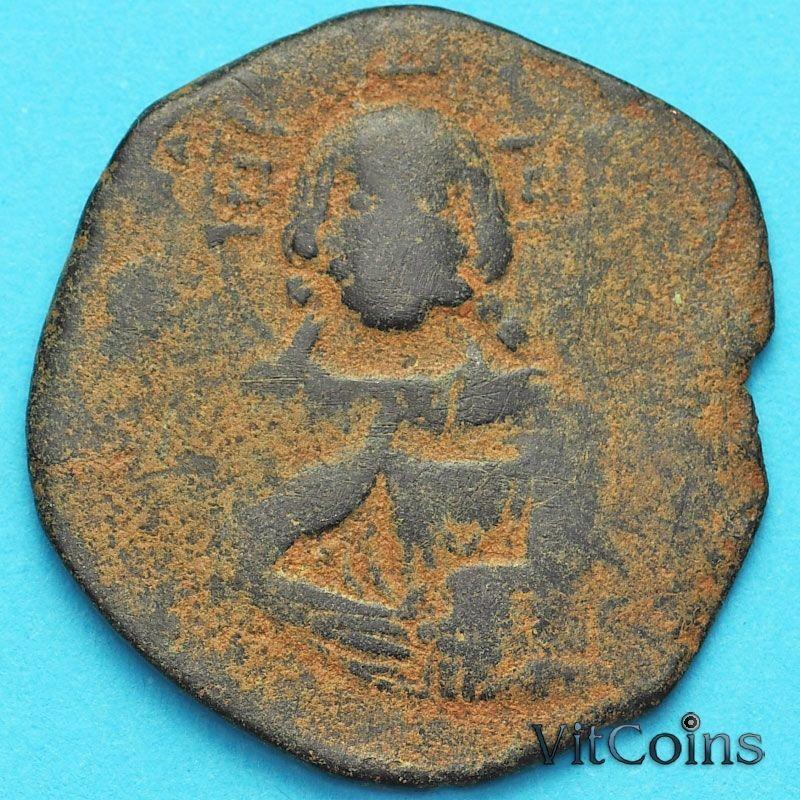 Византия анонимный фоллис, Иисус. Роман III Аргир 1028-1034 год. №8