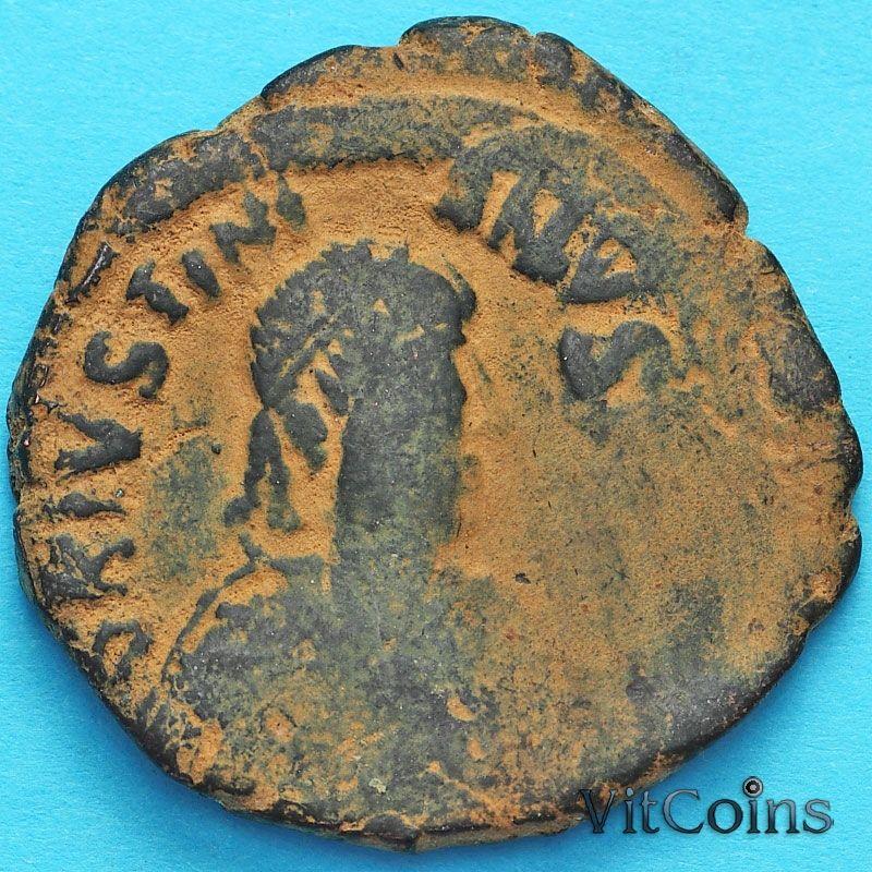 Византия 40 нуммий Юстиниан I 527-532 год. №11