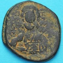 Византия анонимный фолис, Исус. Роман III Аргир 1028-1034 год. №7