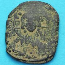 Византия анонимный фолис, Исус. Роман III Аргир 1028-1034 год. №6