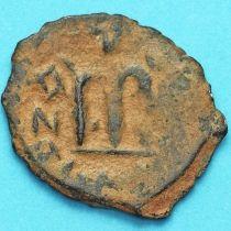 Византия фоллис Констант II 641-668 год. № 25