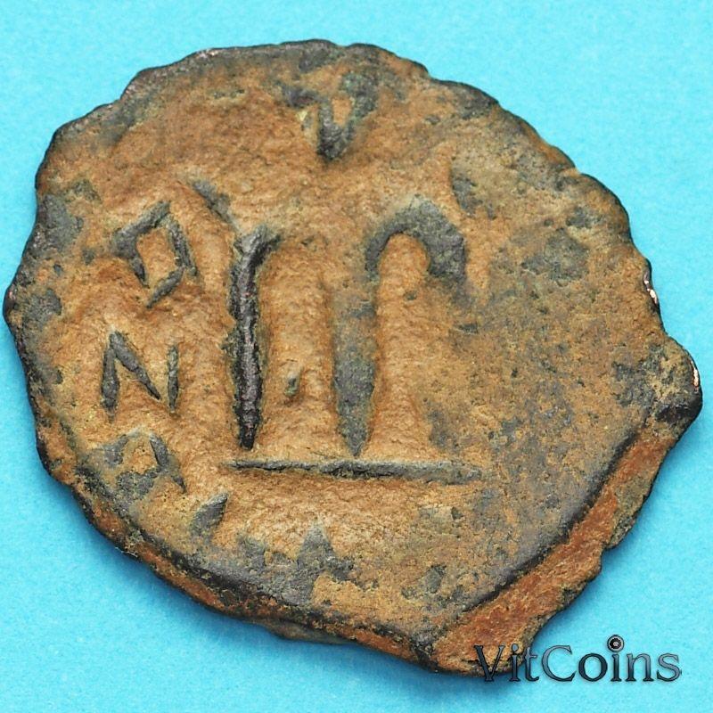Византия фоллис Констант II 641-668 год. №25