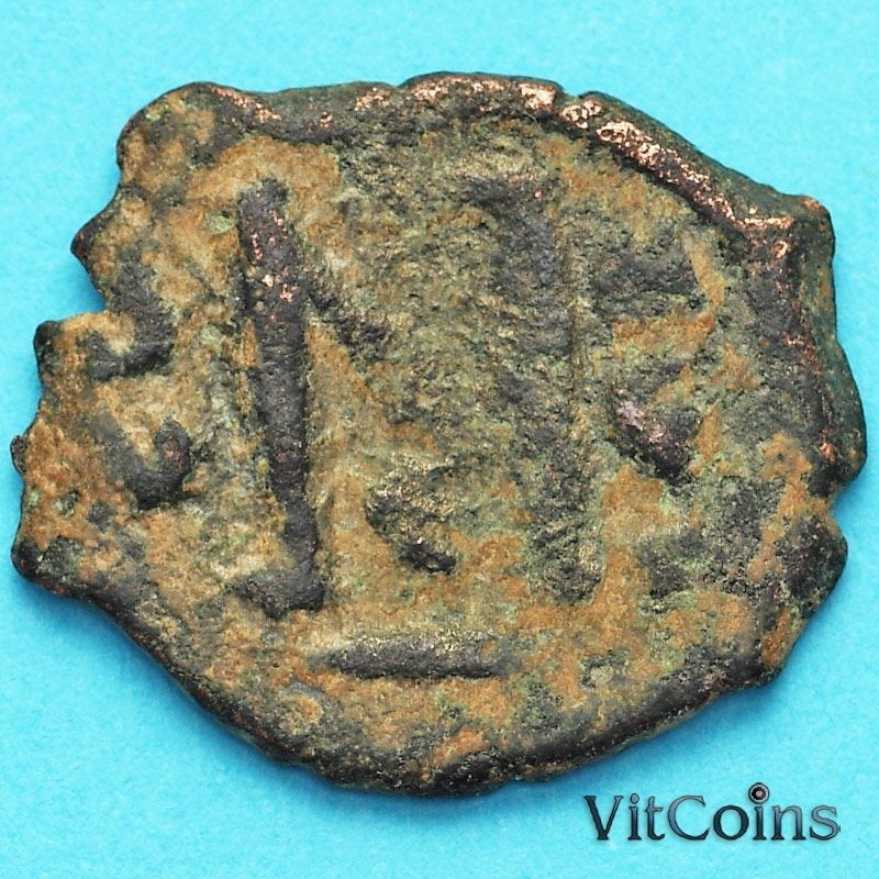 Византия фоллис Ираклий, Ираклий Константин 610-641 год. №17