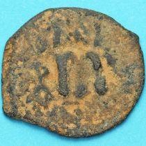 Византия фоллис Констант II 641-668 год. № 26