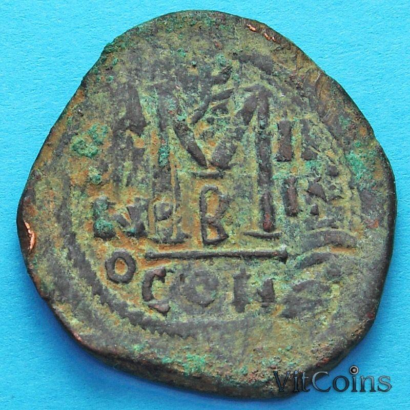 Византия 40 нуммий Ираклий и Ираклий Константин 610-641 год.