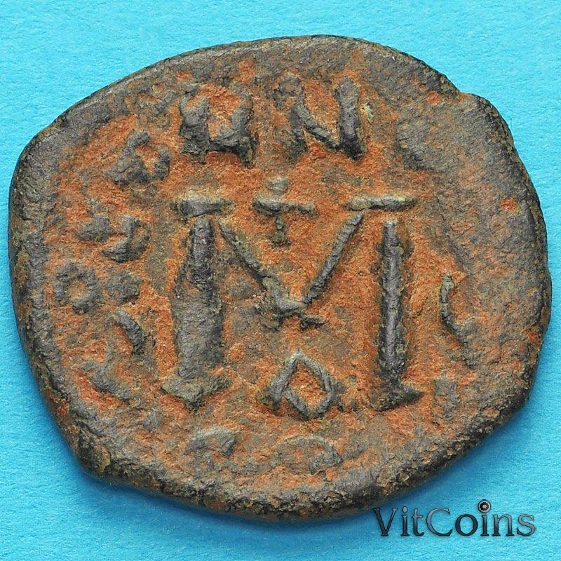 Византия фоллис Ираклий, Ираклий Константин 610-641 год. №2