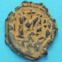 Византия фоллис Юстиниан I 482-565 год.