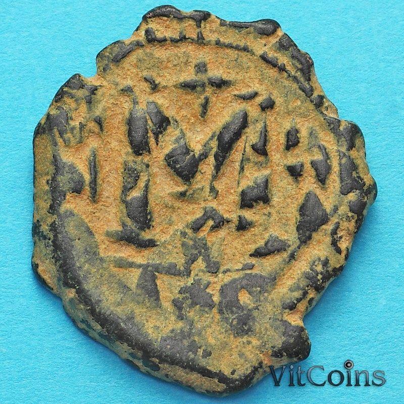 Византия фоллис Констант II 644-645 год. №2