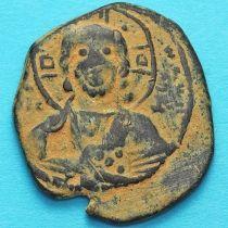 Византия анонимный фоллис, Исус. Роман III Аргир 1028-1034 год. №2