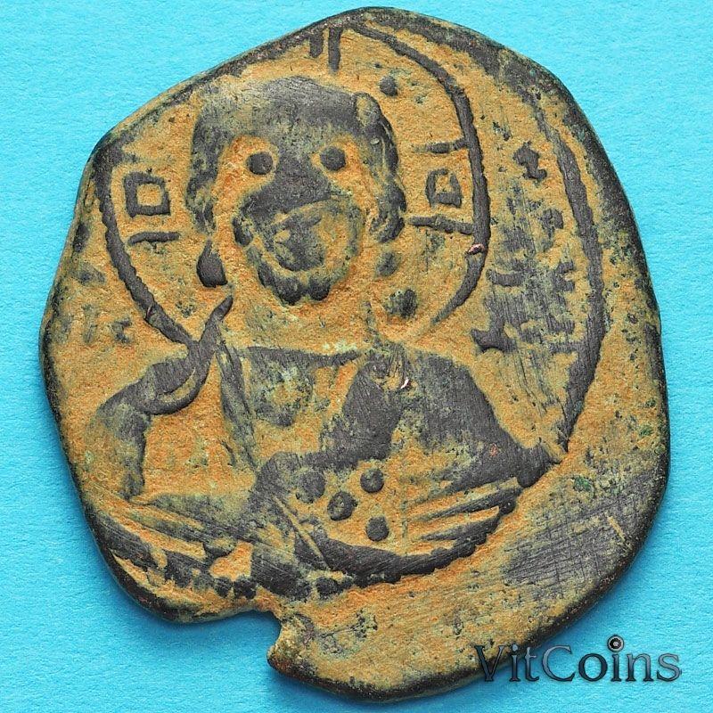 Византия анонимный фолис, Иисус. Роман III Аргир 1028-1034 год. №2