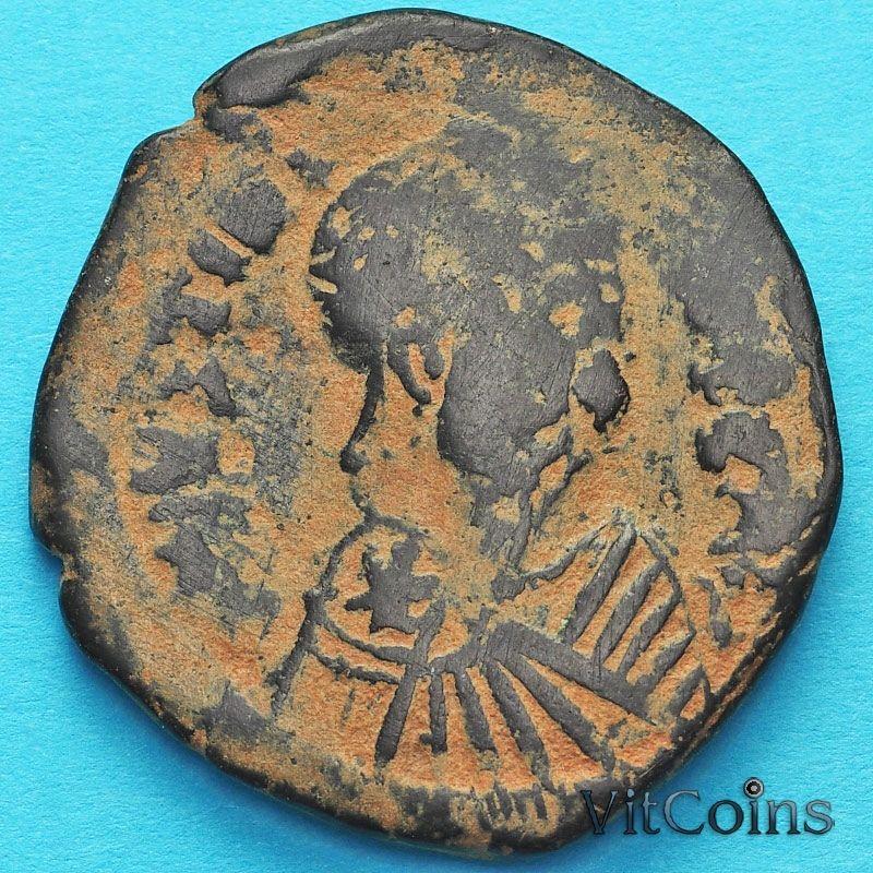 Византия 40 нуммий Юстин 518-527 год №3