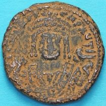 Византия 40 нуммий Маврикий Тиберий 596 год.